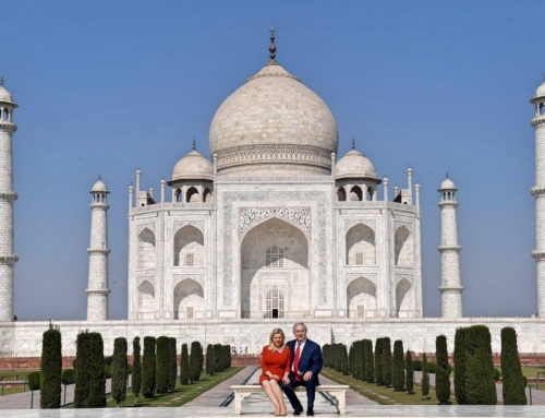 Bibi & Sara Netanyahu in India