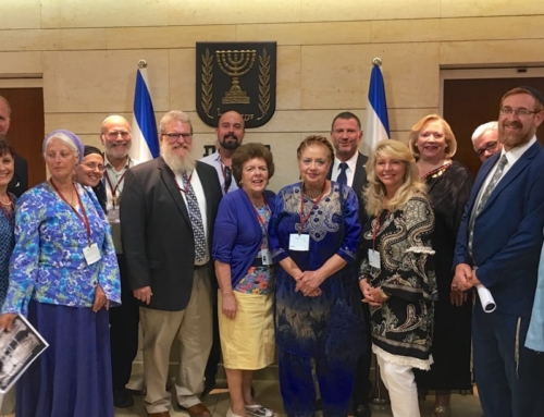 Christian Leaders Condemn Anti-Semitism in Act of Reconciliation at Israeli Parliament