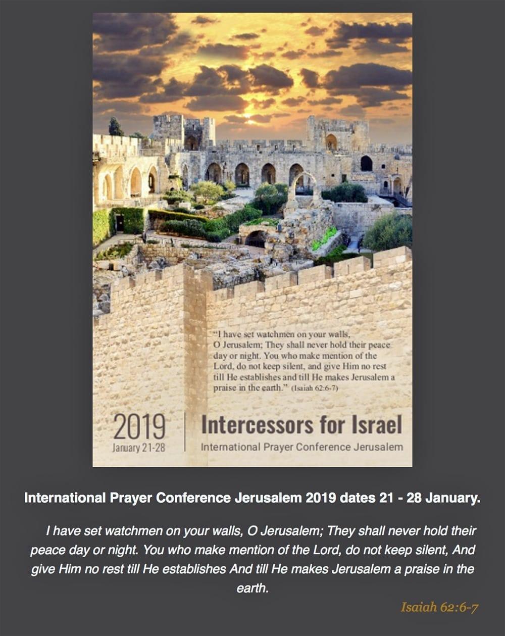 prayer for Israel Archives - Jerusalem tv