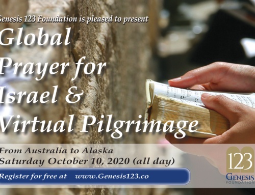 Join First Jewish-Christian Global Prayer