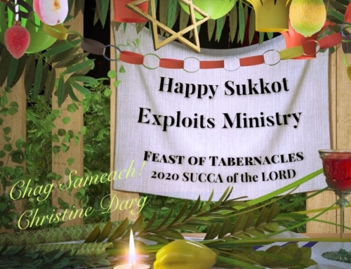 The Lord's Virtual Tent During Feast of Tabernacles!