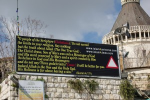 Nazareth billboard